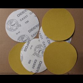 Tépőzáras csiszoló Deer CA331 átm125mm P400 (100 db/csomag)