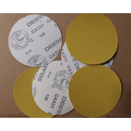 Tépőzáras csiszoló Deer CA331 átm125mm P180 (100 db/csomag)