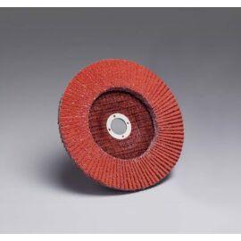 Legyezőtárcsa 3M 947D Cubitron™ legyezőtárcsa D=125 mm P040 B típus / Conical (67010)