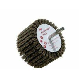 Tengelyes termék 3M PFZS ScotchBrite™ lamellás kefe 75 x 45 x 6mm A MED (7209)