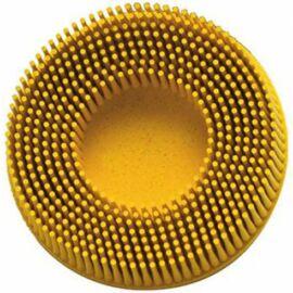 Roloc™ csiszolórendszer 3M RDZB Roloc™ Bristle Disc D=75mm P080 sárga (7527)