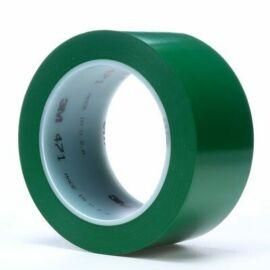 Lágy PVC ragasztószalag 3M 471, zöld 50 mm x 33 m