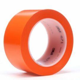 Lágy PVC ragasztószalag 3M 471, narancs 50 mm x 33 m