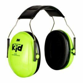 Fültok passzív Peltor 3M H510AK-442-GB fültok gyerekek részére, neon zöld,