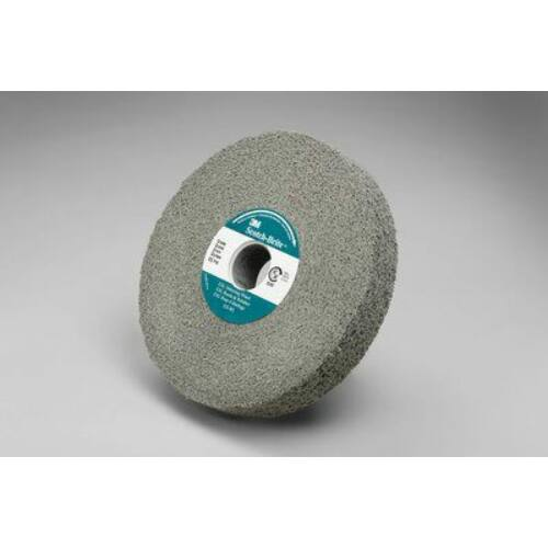 Felületkezelő tárcsa 3M DBWL ScotchBrite™ sorjázó korong 152 x 25 x 25,4mm 7S FIN világosszürke (187