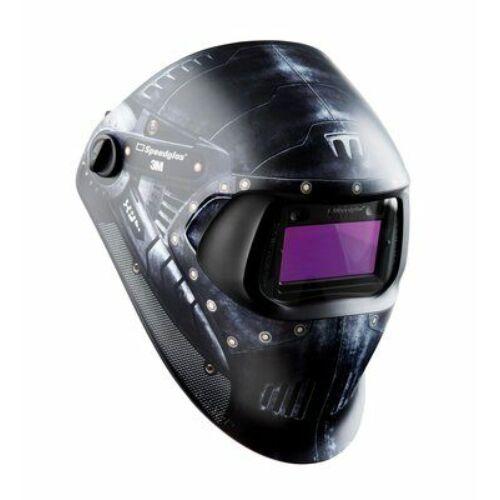 """3M™ Speedglas™ 100 """"Gladiátor"""" elnevezésű hegesztőpajzs 100V kazettával (3 / 8-12 sötétedési fok), 7"""